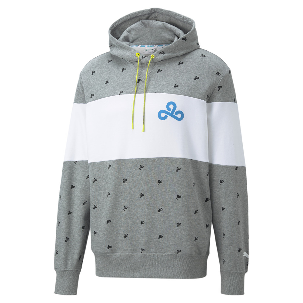Image PUMA PUMA x CLOUD9 Zoned In Printed Men's Esports Hoodie #1
