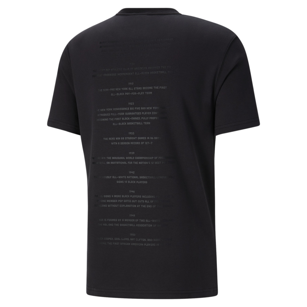 Image PUMA Black Fives Timeline Men's Tee #2