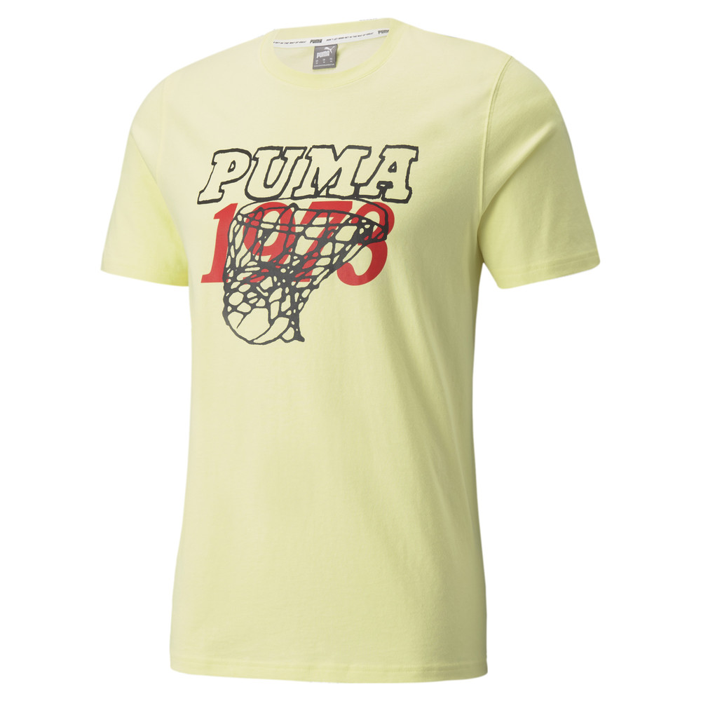 Image PUMA Scouted Short Sleeve Men's Basketball Tee #1