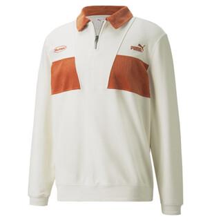 Image PUMA PUMA x BUTTER GOODS Quarter-Zip Sweater