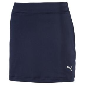 Thumbnail 1 of Golf Girls' Solid Knit Skirt, Peacoat, medium