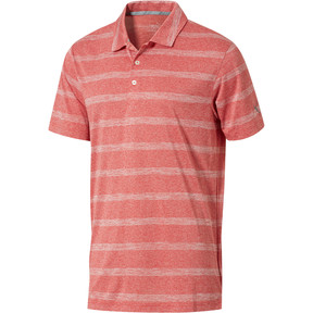 Thumbnail 1 of Pounce Stripe Polo Top, High Risk Red, medium