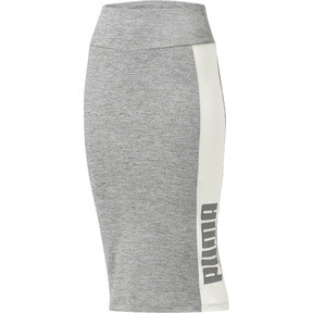 Thumbnail 1 of Archive Logo Pencil Skirt, Medium Gray Heather, medium
