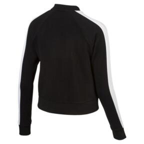 Thumbnail 3 of Archive Logo T7 Track Jacket, Cotton Black, medium