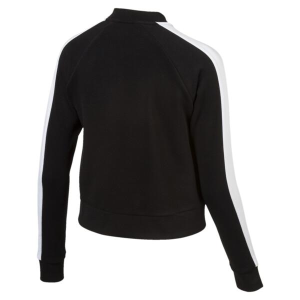 Archive Logo T7 Track Jacket, Cotton Black, large