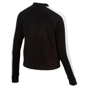 Thumbnail 4 of Archive Logo T7 Track Jacket, Cotton Black, medium