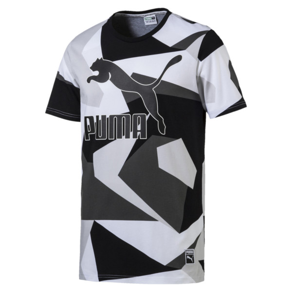 T Shirt Archive Logo AOP pour homme