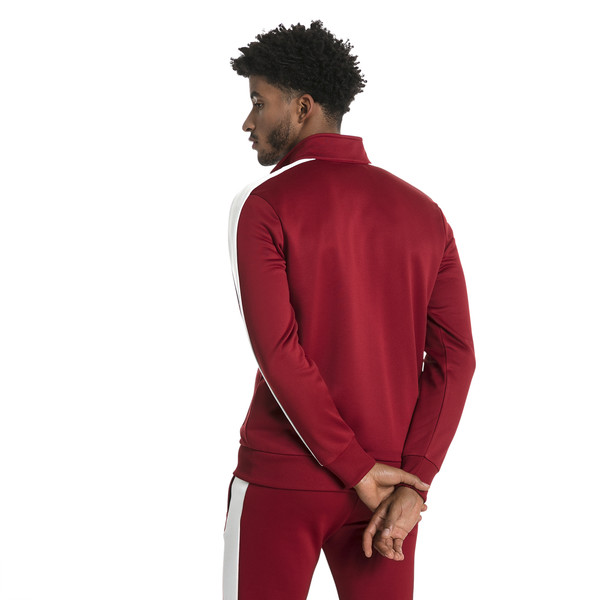 Archive Men's T7 Track Jacket, Red Dahlia, large