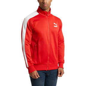 Thumbnail 2 of Archive Men's T7 Track Jacket, Flame Scarlet, medium