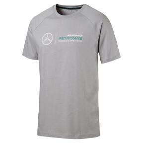 Thumbnail 1 of MERCEDES AMG PETRONAS Men's Logo T-Shirt, Mercedes Team Silver, medium