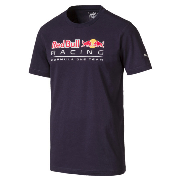 Red Bull Racing Men's Logo T-Shirt, NIGHT SKY, large