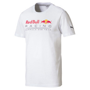 Thumbnail 1 of Red Bull Racing Men's Logo T-Shirt, Puma White, medium
