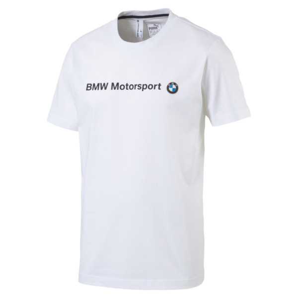 2c348c1f7 BMW Motorsport Men's Logo T-Shirt | Puma White | PUMA Clothing ...