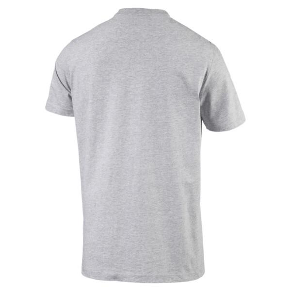 BMW Motorsport Men's Logo T-Shirt, Light Gray Heather, large