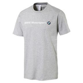 Thumbnail 1 of BMW Motorsport Men's Logo T-Shirt, Light Gray Heather, medium