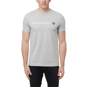 Thumbnail 2 of BMW Motorsport Men's Logo T-Shirt, Light Gray Heather, medium