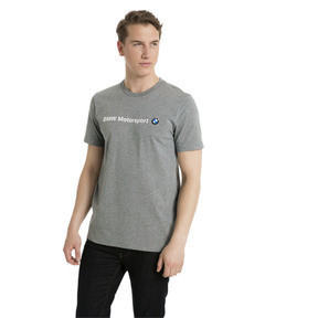 Thumbnail 2 of BMW Motorsport Men's Logo T-Shirt, Medium Gray Heather, medium