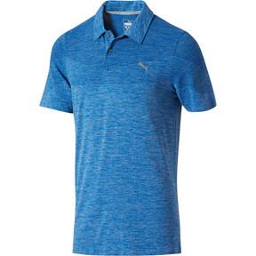 Thumbnail 1 of evoKNIT Seamless Polo Shirt, lapis blue, medium