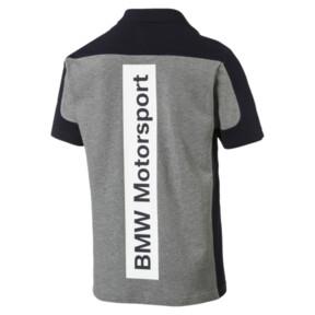 Thumbnail 4 of BMW Motorsport Polo Shirt, Medium Gray Heather, medium