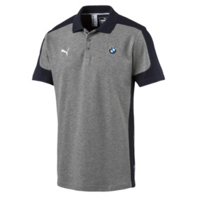Thumbnail 1 of BMW Motorsport Polo Shirt, Medium Gray Heather, medium