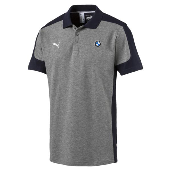 BMW Motorsport Polo Shirt, Medium Gray Heather, large