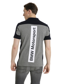 Thumbnail 3 of BMW Motorsport Polo Shirt, Medium Gray Heather, medium
