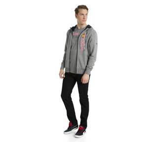 Thumbnail 9 of Red Bull Racing Lifestyle Men's Hooded Sweat Jacket, Medium Gray Heather, medium