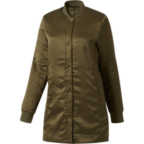 Thumbnail 3 of Reversible Light Padded Jacket, Olive Night, medium