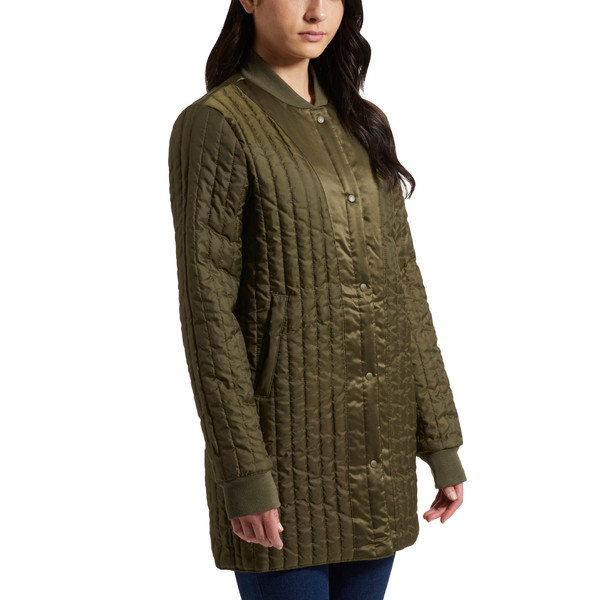Reversible Light Padded Jacket, Olive Night, large