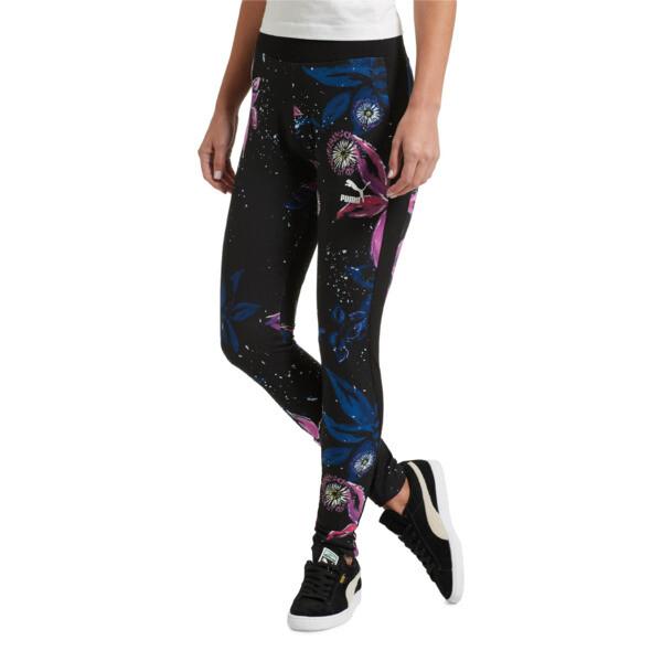 fa733075739641 Classics Women's AOP Archive Logo T7 Leggings | PUMA Leggings | PUMA ...