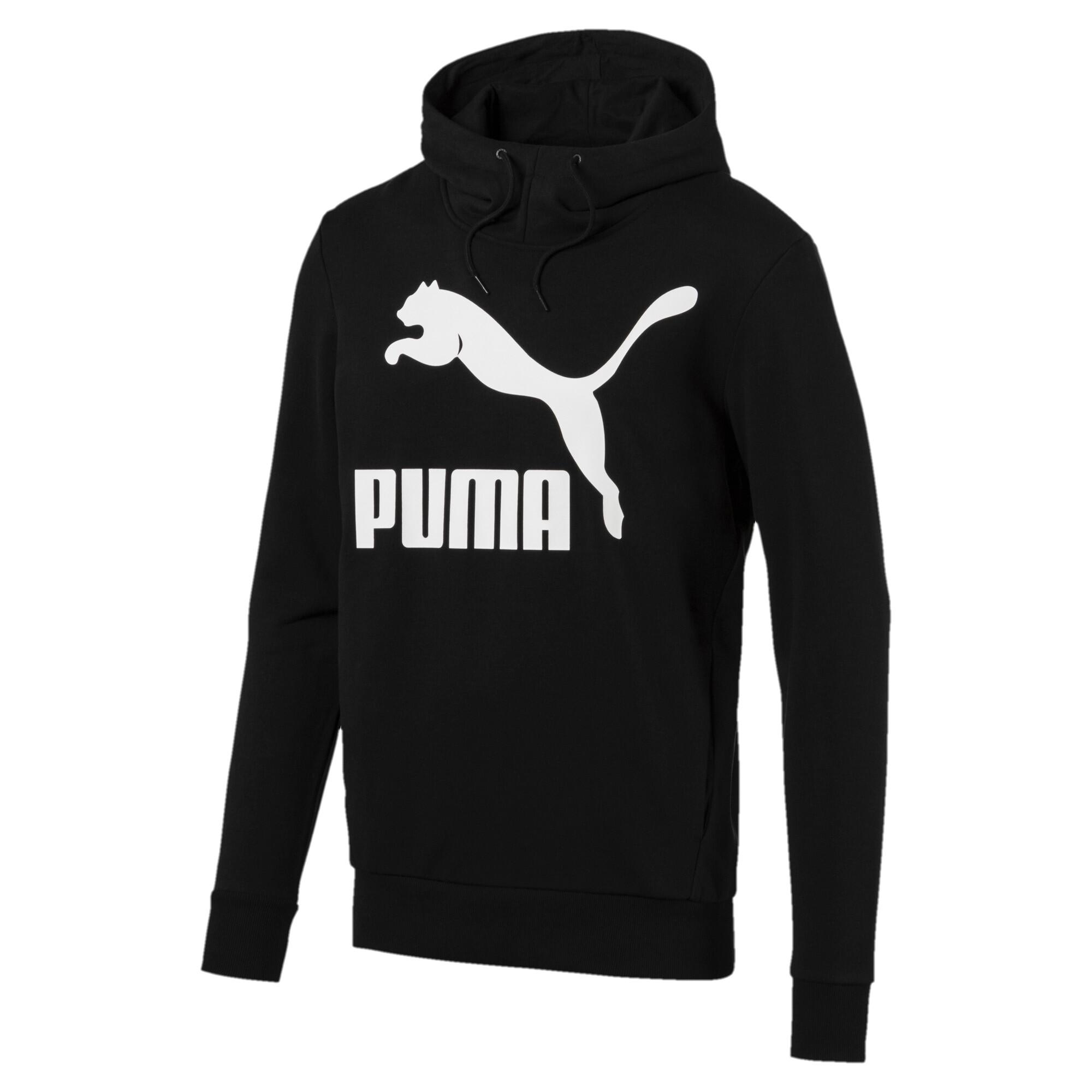 Image Puma Men's Classics Archive Logo Hoodie #1