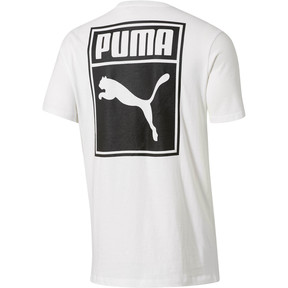 Thumbnail 3 of Archive Logo Box T-Shirt, Puma White-Puma Black, medium