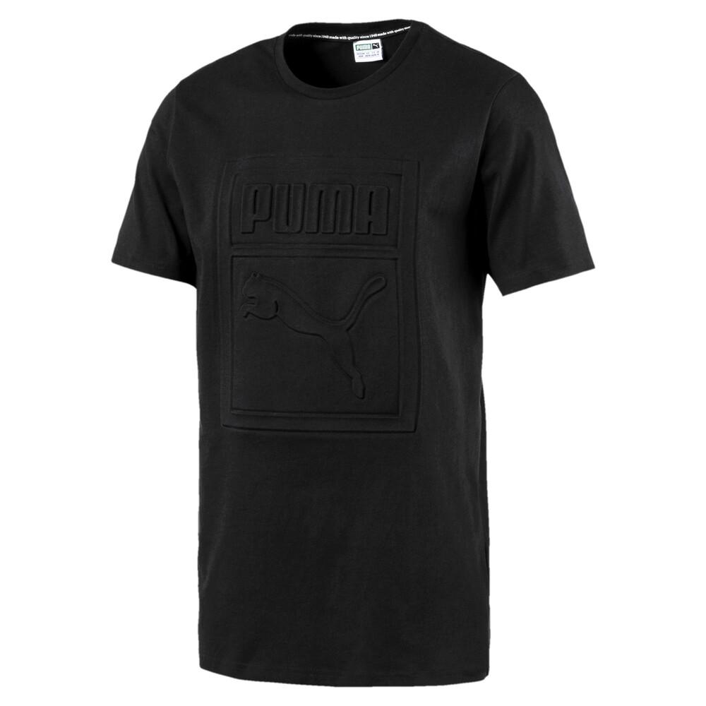 Görüntü Puma CLASSICS ARCHIVE Embossed Logo Erkek T-Shirt #1