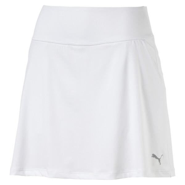 14253cf61 Golf Women's PWRSHAPE Solid Knit Skirt | Bright White | PUMA New ...