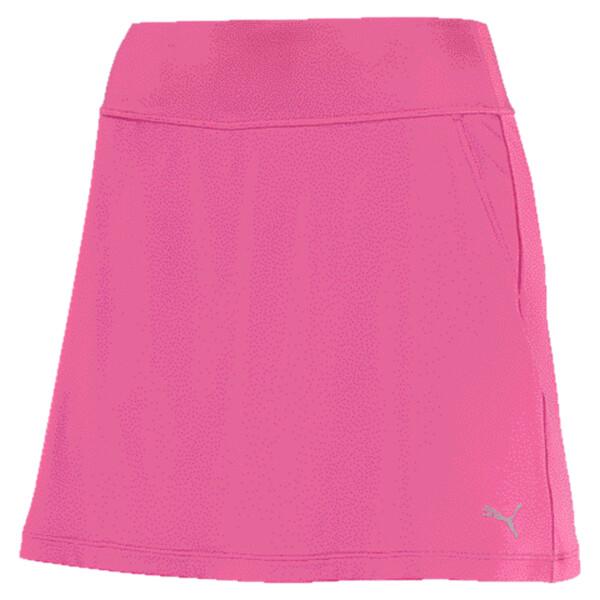 Women's PWRSHAPE Solid Knit Skirt, Carmine Rose, large