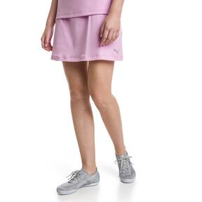 Thumbnail 1 van Golf - effen gebreide PWRSHAPE rok voor vrouwen, Bleekroze, medium