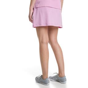 Thumbnail 2 van Golf - effen gebreide PWRSHAPE rok voor vrouwen, Bleekroze, medium