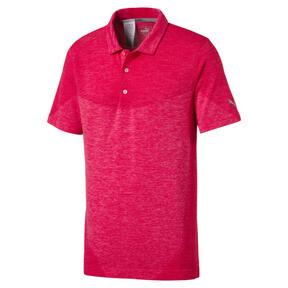 Thumbnail 1 of Golf Men's evoKNIT Block Seamless Polo, Paradise Pink, medium