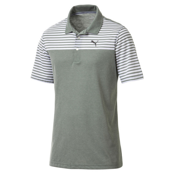 Men's Clubhouse Polo, laurel wreath, large