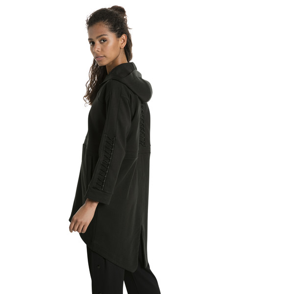 Evolution Lacing Midlayer Jacket, Puma Black, large