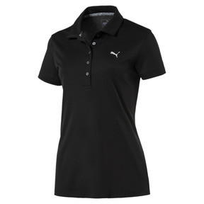 Thumbnail 1 of Golf Women's Pounce Polo, Puma Black, medium