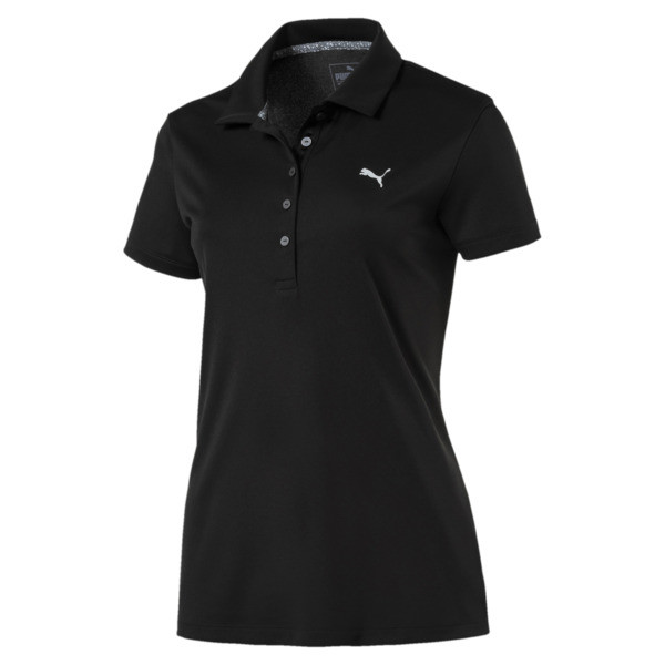 Polo Golf Pounce pour femme, Puma Black, large