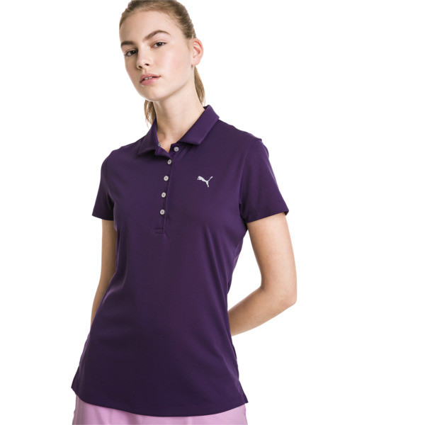 Golf Damen Pounce Polo, Indigo, large