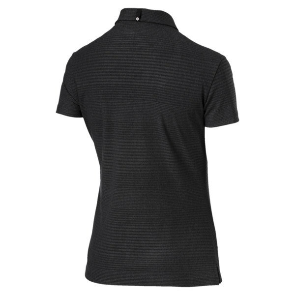 Pounce Aston Polo Shirt, Puma Black, large