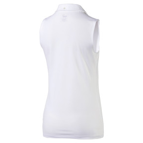 Thumbnail 5 of Golf Women's Pounce Sleeveless Polo, Bright White, medium