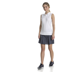 Thumbnail 3 of Golf Women's Pounce Sleeveless Polo, Bright White, medium