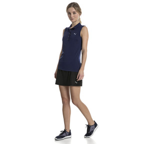 Thumbnail 3 of Golf Women's Pounce Sleeveless Polo, Peacoat, medium