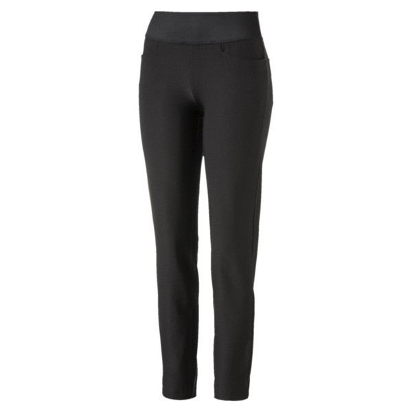 Golf Women's PWRSHAPE Pull On Pants, Puma Black, large