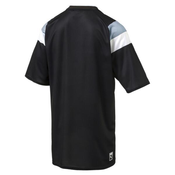 Heritage Men's Soccer Tee, Puma Black, large
