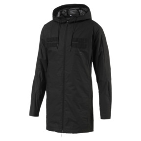 Thumbnail 1 of Pace LAB Men's Hooded Jacket, Puma Black, medium